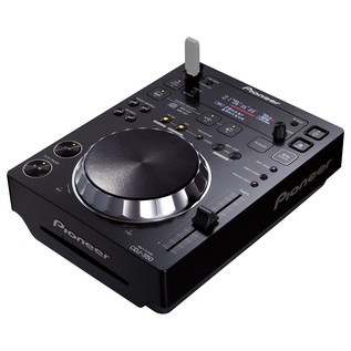 Pioneer CDJ-350 Digital Multimedia Deck - Angled (USB Not Included)