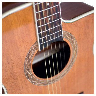 Eko DUO 018 CW EQ Electro Acoustic, Natural Close up
