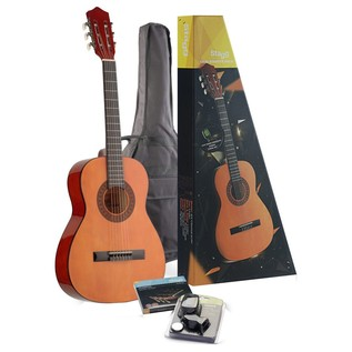 Stagg 3/4 Size Linden Classical Guitar Pack