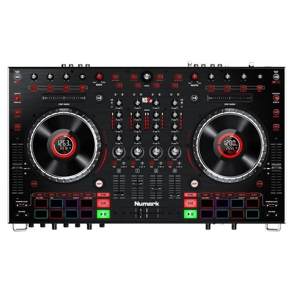 Numark NS6II 4-Channel DJ Controller - Top