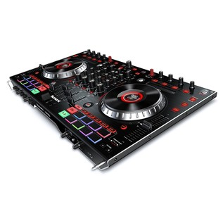 Numark NS6II 4-Channel DJ Controller - Angled