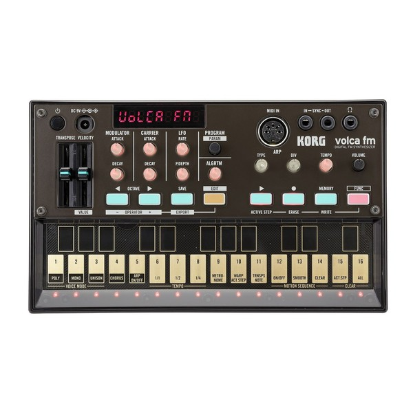 Korg Volca FM Digital Synthesizer - Top