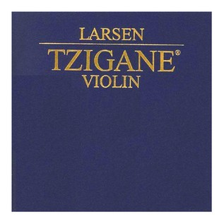 Larsen Tzigane Violin String Set, E Ball End