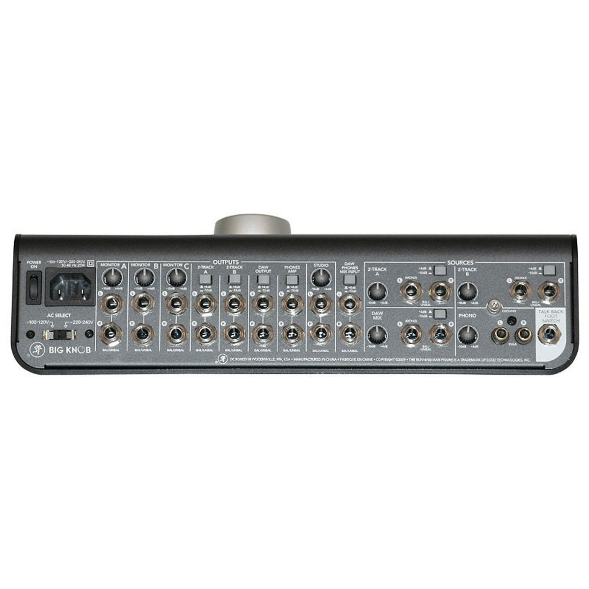 Mackie Big Knob Studio Command System B Stock At Gear4music