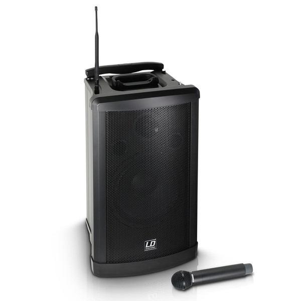 LD Systems Roadman 102 Portable PA Speaker with Handheld Microphone