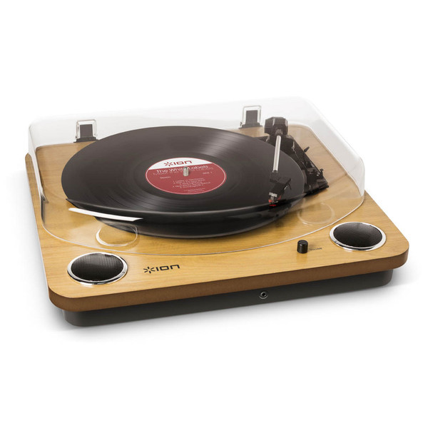 Record Player Max Pad Vinyl Turntable with Stereo Speakers Convert Vinyl to MP3