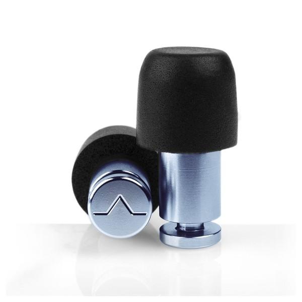 Flare Audio Isolate MiNi Aluminium Ear Plugs, Denim Blue
