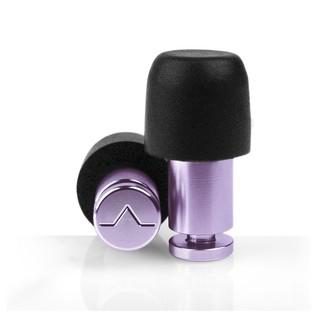 Flare Audio Isolate MiNi Aluminium Ear Plugs, Silver Pink