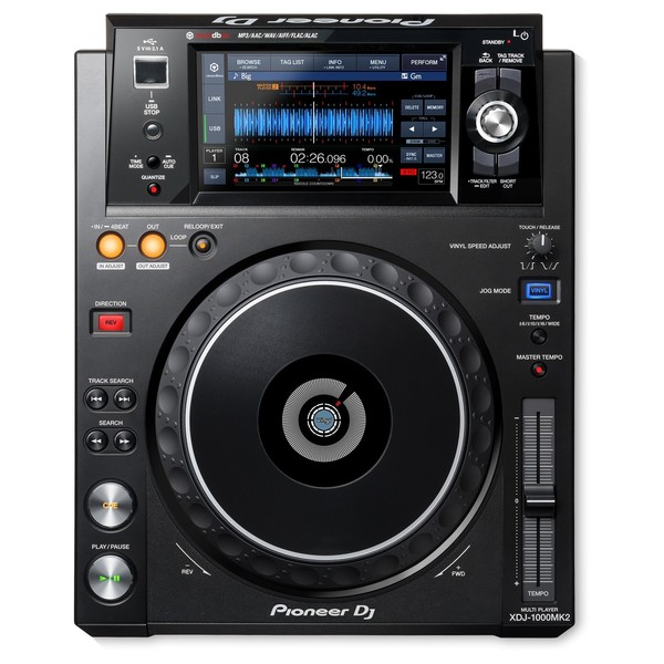 Pioneer XDJ-1000MK2 CDJ Player - Top
