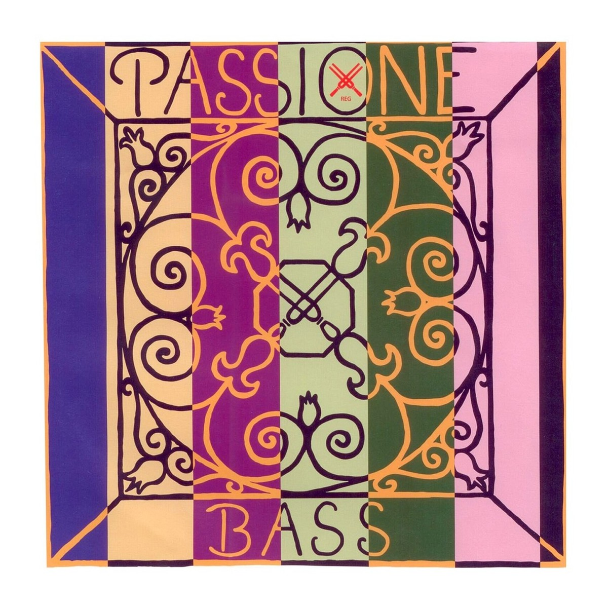pirastro passione 3 4 double bass d string strong gauge at gear4music. Black Bedroom Furniture Sets. Home Design Ideas