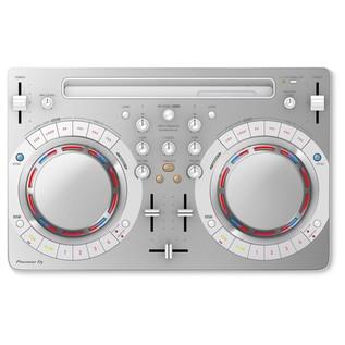 Pioneer DDJ-WeGO4 DJ Controller, White - Top