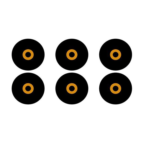 Flare Audio Earfoams Isolate MiNi Replacement Tips, Medium