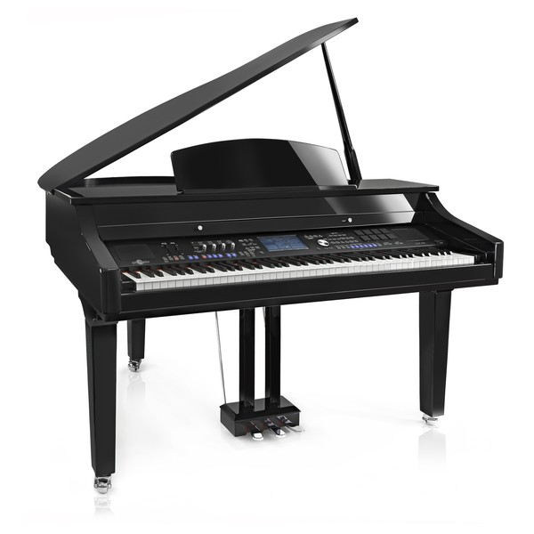 GDP-400 Digital Grand Piano by Gear4music