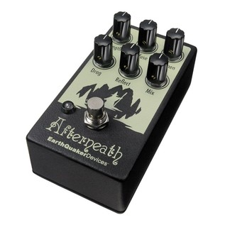 EarthQuaker Devices Afterneath Reverb Pedal Angle 1