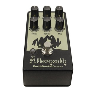 EarthQuaker Devices Afterneath Reverb Pedal Top Angle