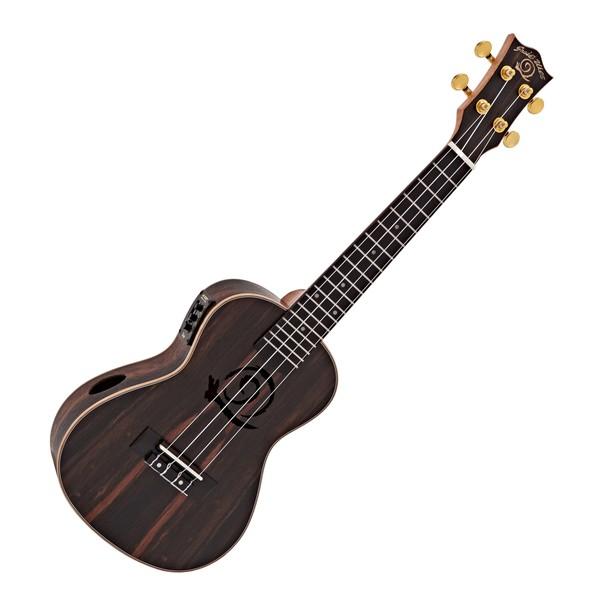 Snail UKC-E483EQ Concert Ebony Electro Acoustic Ukulele