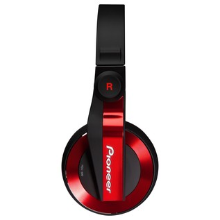 Pioneer HDJ-500R DJ Headphones, Red - Side 2