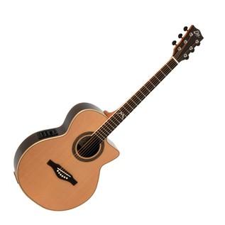 Eko MIA 018 CW EQ Electro Acoustic Guitar, Natural