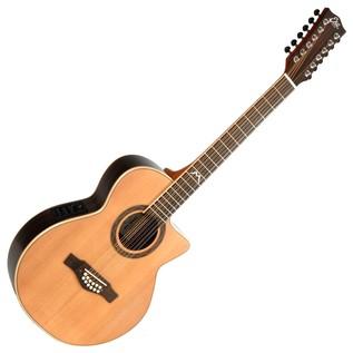 Eko MIA 018 CW XII EQ Electro Acoustic Guitar, Natural
