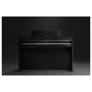 Kawai Concert Artist CA97 Digital Hybrid Piano, Premium Satin Black Front