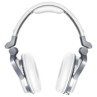 Pioneer HDJ 1500 White DJ Headphones - Front