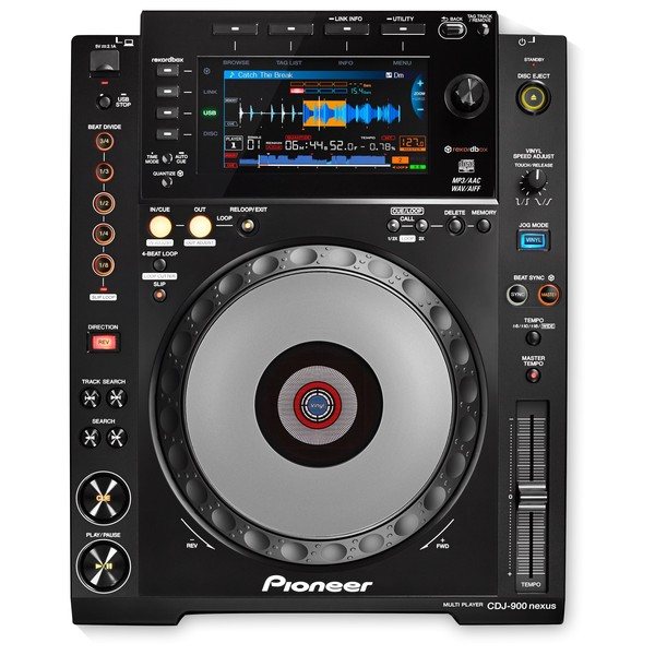 Pioneer CDJ-900NXS Professional Multimedia Player - Top