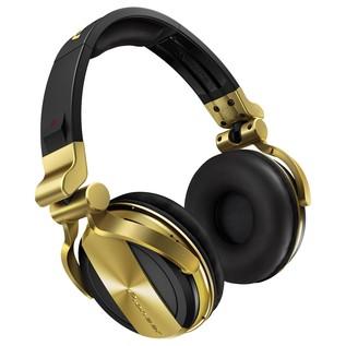 Pioneer HDJ 1500 Professional DJ Headphones, Gold - Angled