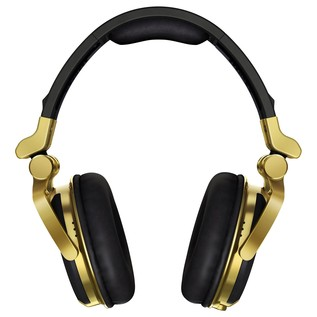 Pioneer HDJ 1500 Professional DJ Headphones, Gold - Front
