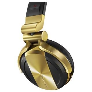 Pioneer HDJ 1500 Professional DJ Headphones, Gold - Detail