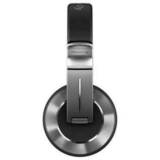 Pioneer HDJ-2000MK2 High-End Professional DJ Headphones, Sliver - Side