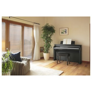Kawai Concert Artist CA97 Satin Black Full Length