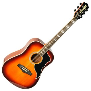Eko Ranger Vi VR Acoustic Guitar, Honey Burst Front