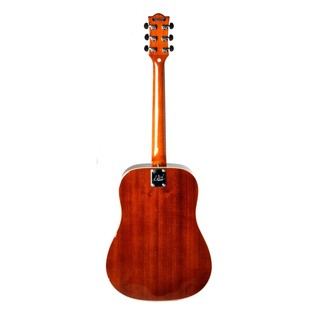 Eko Ranger VI VR Acoustic Guitar, Honey Burst Back