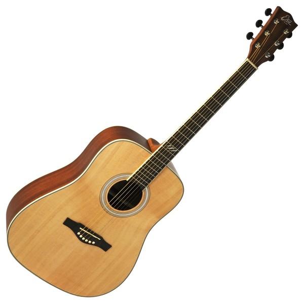 Eko TRI D Acoustic Guitar, Natural