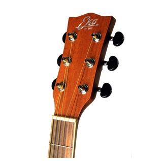 Eko TRI 018 CW EQ Electro Acoustic Guitar, Natural Headstock