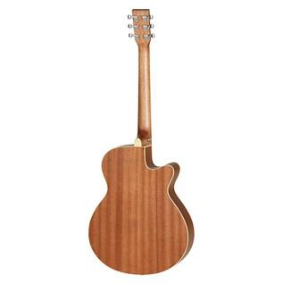 Tanglewood TW9 Super Folk Left Handed Cutaway Electro Acoustic Guitar- Back