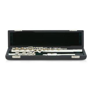 Pearl F525RE Quantz Forza Flute, Open Hole, Silver Lip