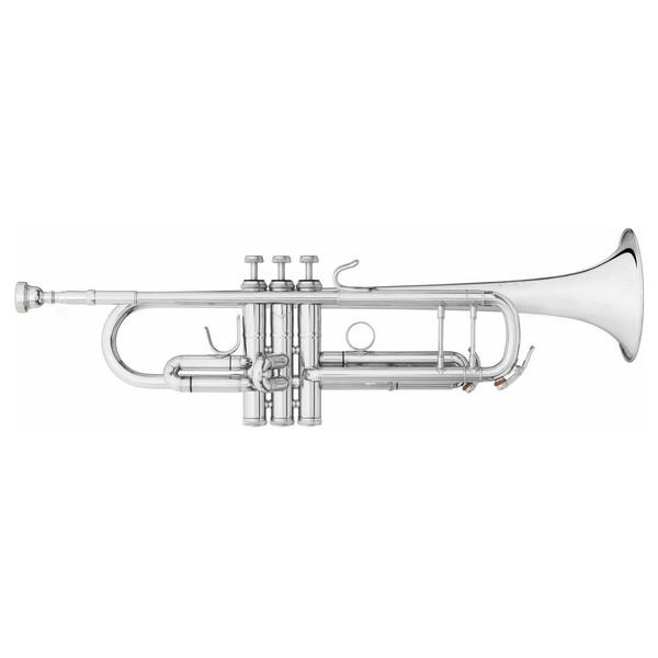 "B&S Challenger II Trumpet, 43"" Bell, Reverse Leadpipe, Silver"