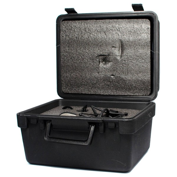 CAD M179 Variable-Pattern Condenser Microphone - Case Angled