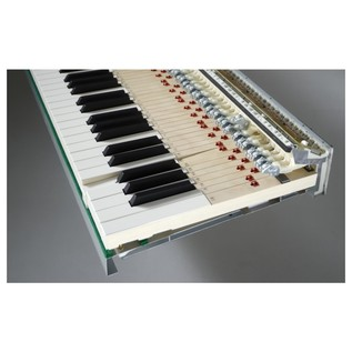 Kawai MP-11 Digital Piano Wooden Key Action Side View