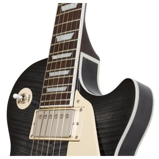 Les Paul ES PRO Hollowbody Guitar, Transparent Black