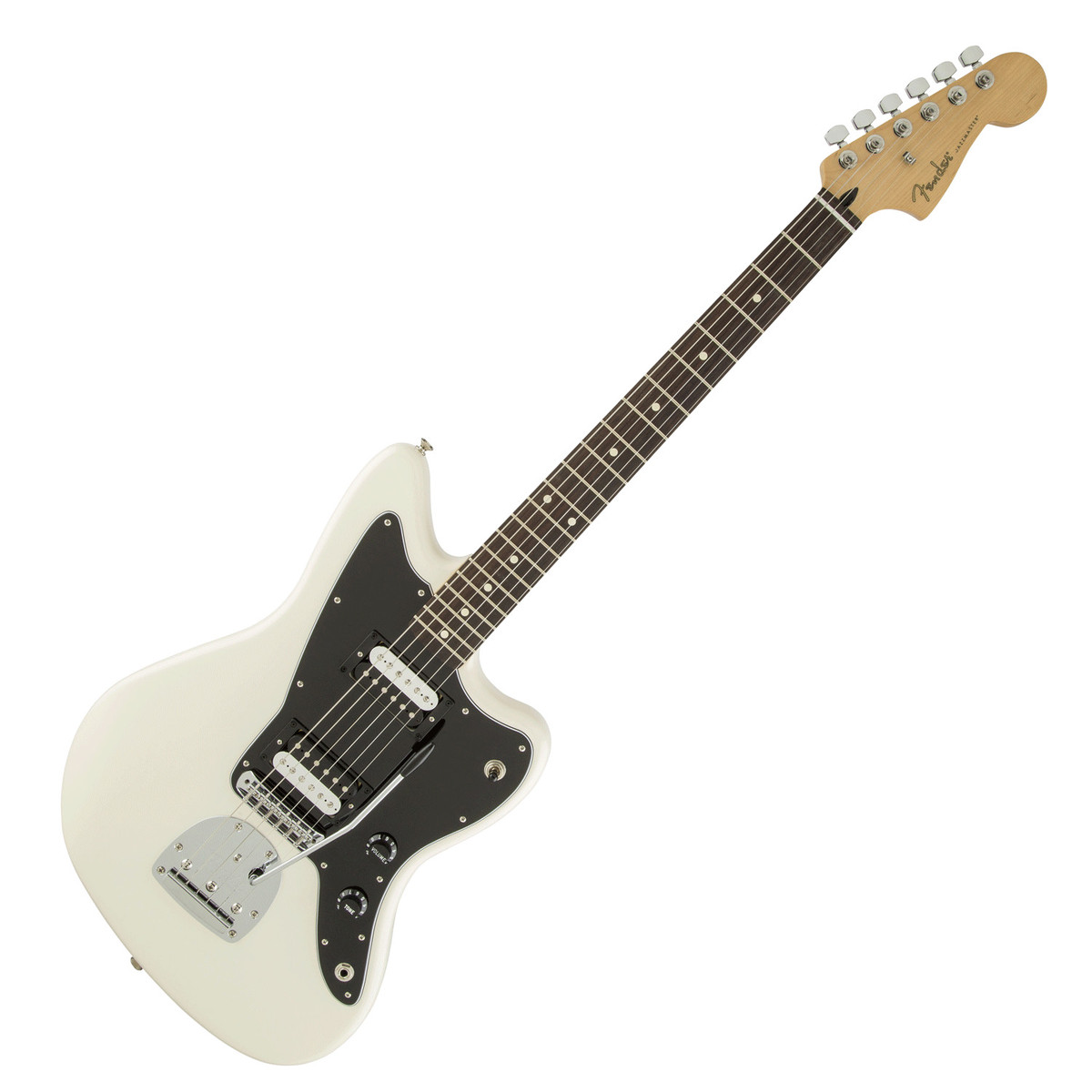 fender standard jazzmaster hh olympic white box opened at gear4music. Black Bedroom Furniture Sets. Home Design Ideas