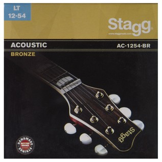 Stagg Set Of Bronze Strings For Acoustic Guitar