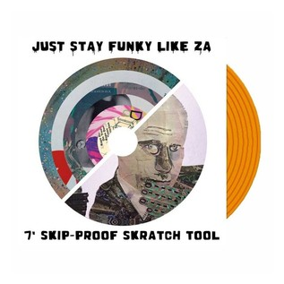 Cut & Paste Records - Just Stay Funky Like ZA Skipless 7
