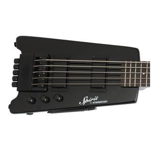 Steinberger Spirit XT-25 Standard 5-String Bass, Black