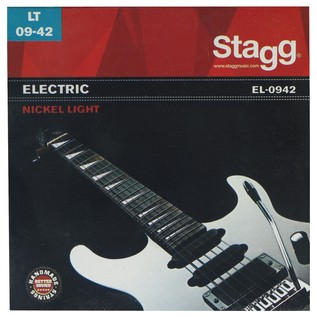 Stagg Electric String Set Nickel Plated Light