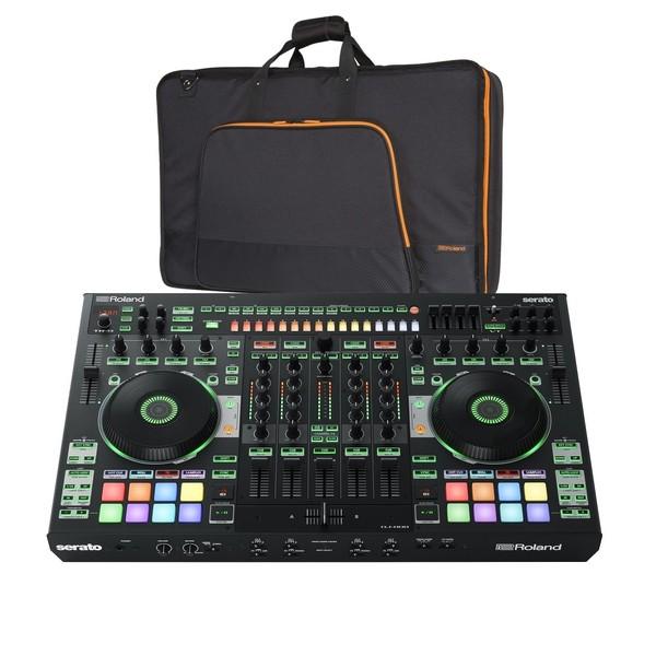 Roland DJ-808 DJ Controller with Case - Bundle