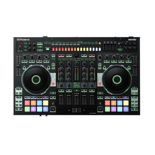 Roland DJ-808 DJ Controller with Case - Controller Top