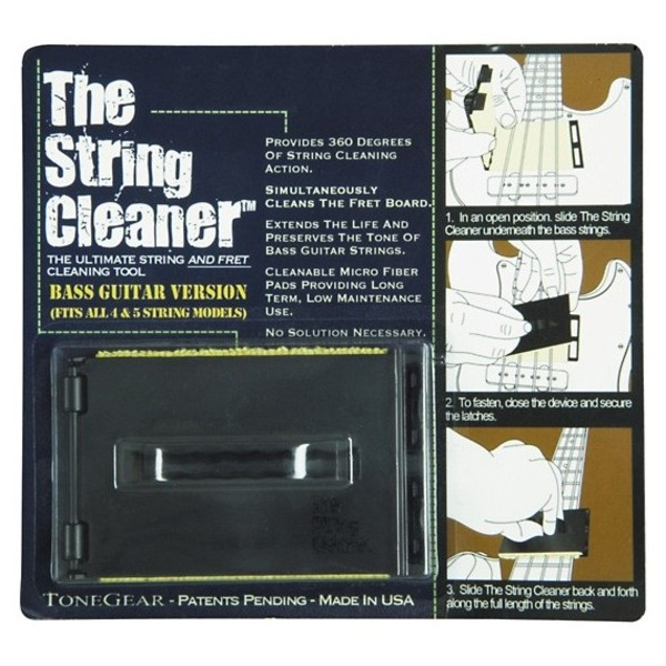 The String Cleaner for Bass Guitar