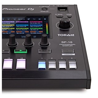 Pioneer DJ TORAIZ SP-16 Sampler with Dave Smith Analog Filters